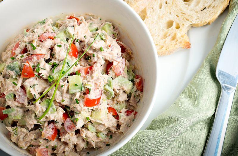 Salata dietetica de ton